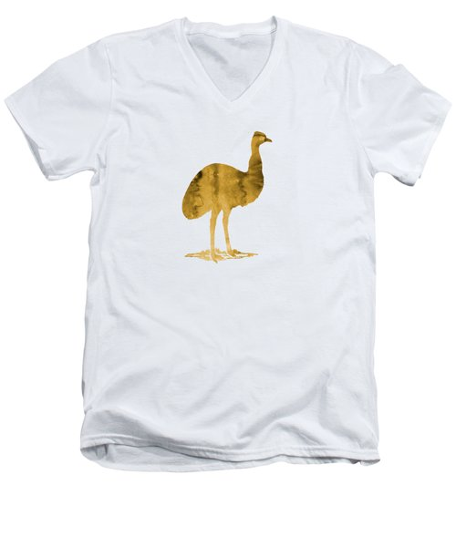Emu Men's V-Neck T-Shirt by Mordax Furittus