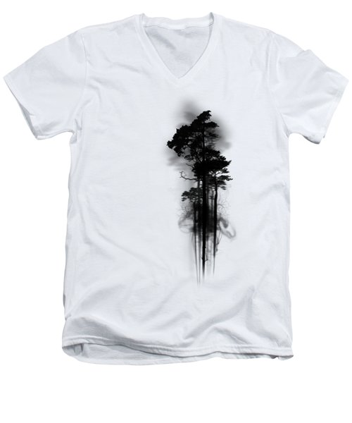 Enchanted Forest Men's V-Neck T-Shirt by Nicklas Gustafsson