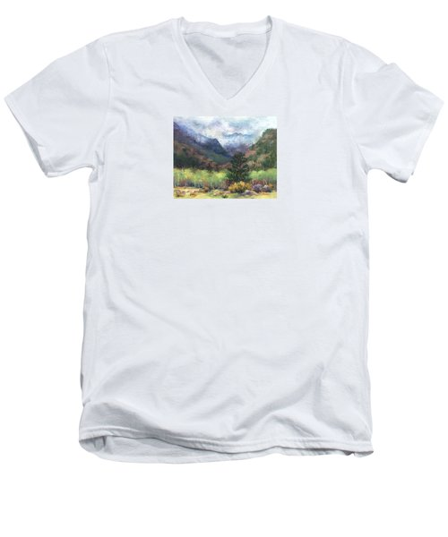 Encroaching Clouds Men's V-Neck T-Shirt