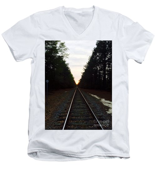 Endless Journey Men's V-Neck T-Shirt