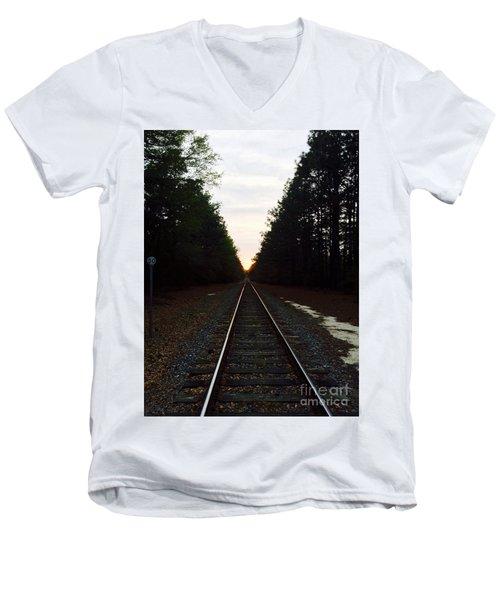 Endless Journey Men's V-Neck T-Shirt