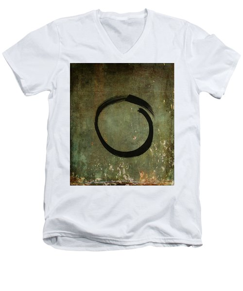 Enso #6 - As Time Goes By Men's V-Neck T-Shirt