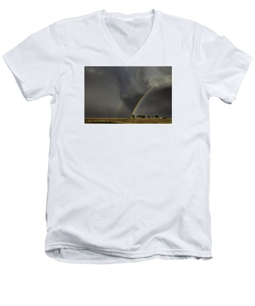 Enter The Storm Men's V-Neck T-Shirt