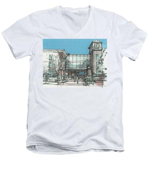 Entry Plaza Men's V-Neck T-Shirt