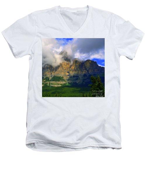 Envelopped  Men's V-Neck T-Shirt