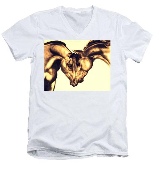 Equine Attraction Men's V-Neck T-Shirt