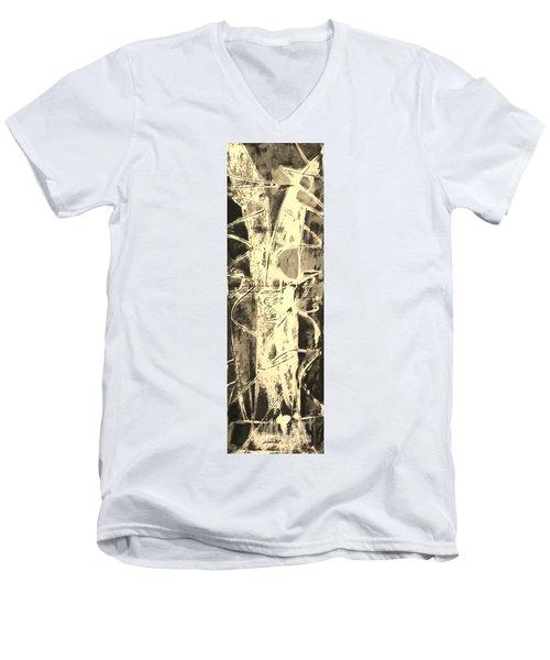 Equity Men's V-Neck T-Shirt by Carol Rashawnna Williams