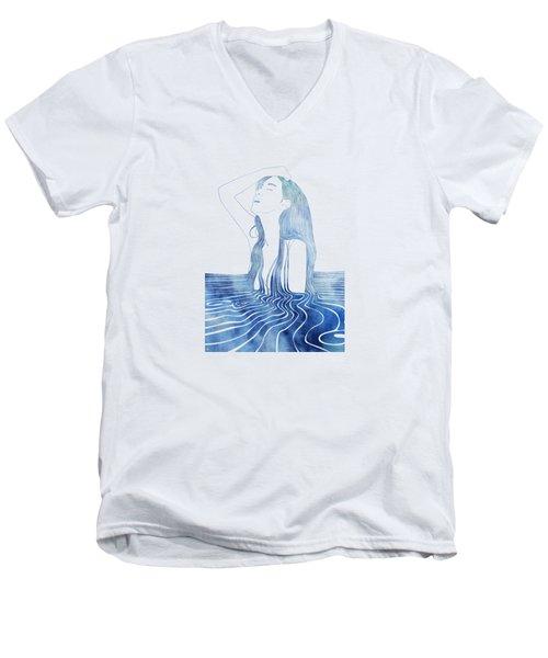 Erato Men's V-Neck T-Shirt