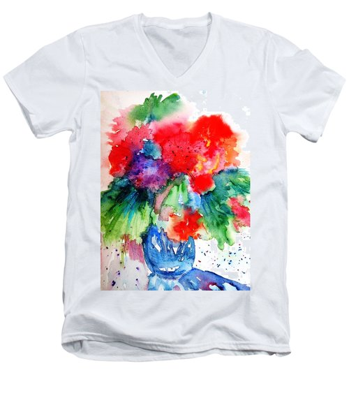 Essence Of Summer Men's V-Neck T-Shirt