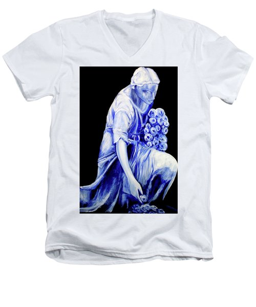 Eternal Peace Men's V-Neck T-Shirt