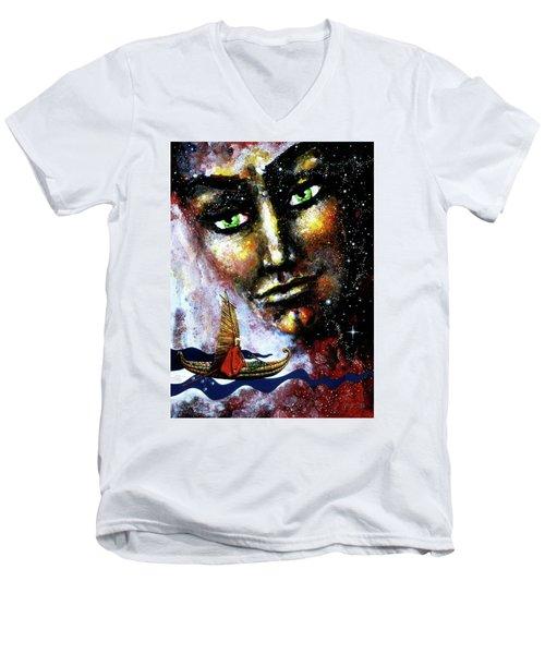 Eternal  Voyage Men's V-Neck T-Shirt