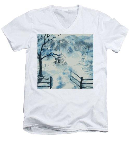 Ethereal Morning  Men's V-Neck T-Shirt
