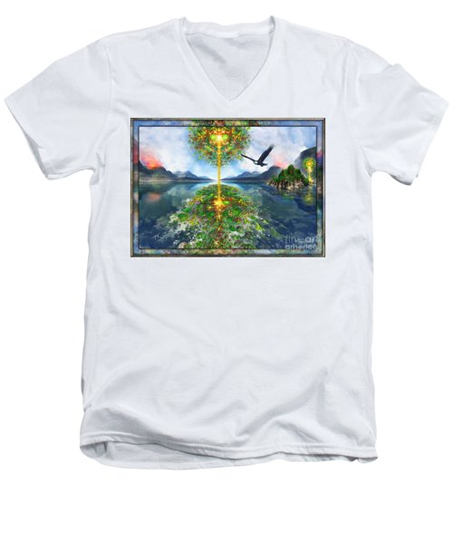 Etheric Lake Men's V-Neck T-Shirt
