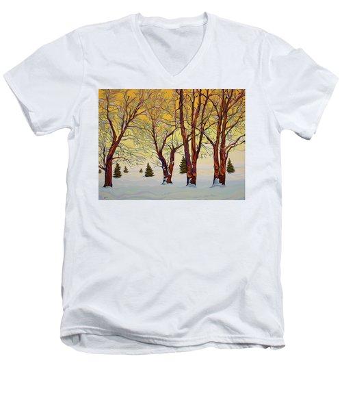 Euphoric Treequility Men's V-Neck T-Shirt