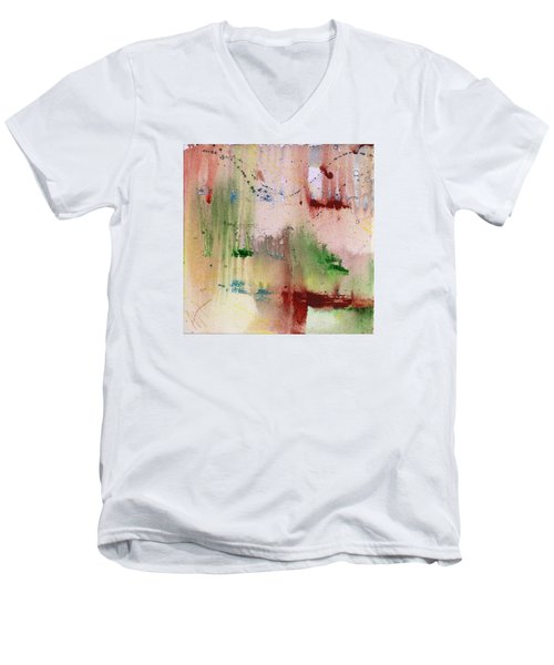 Evaporated Men's V-Neck T-Shirt by Phil Strang
