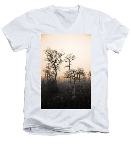 Everglades Cypress Stand Men's V-Neck T-Shirt
