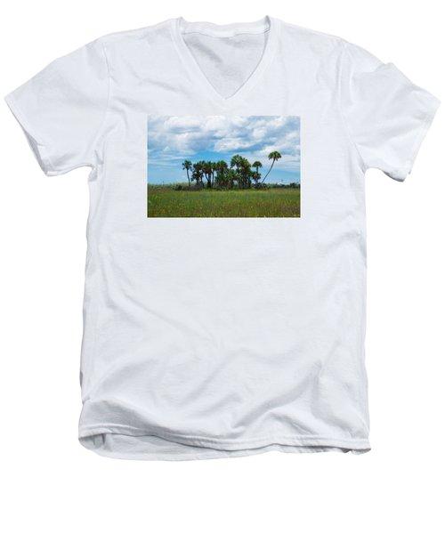 Everglades Landscape Men's V-Neck T-Shirt