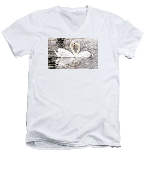 Everlasting Love Men's V-Neck T-Shirt by Cathy Donohoue