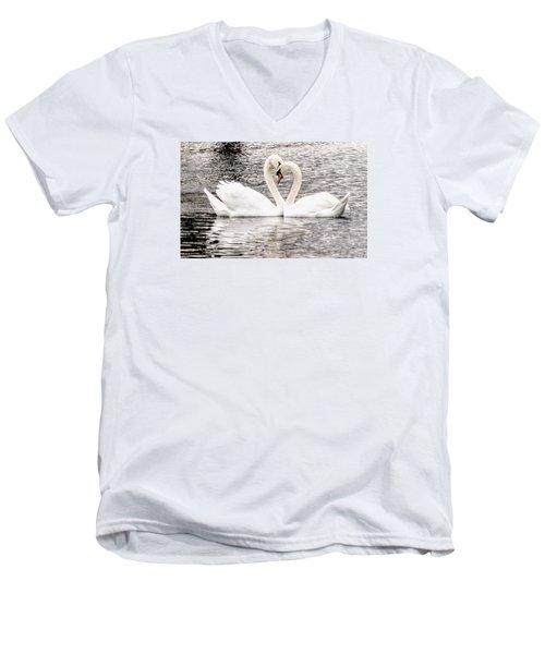 Everlasting Love Men's V-Neck T-Shirt