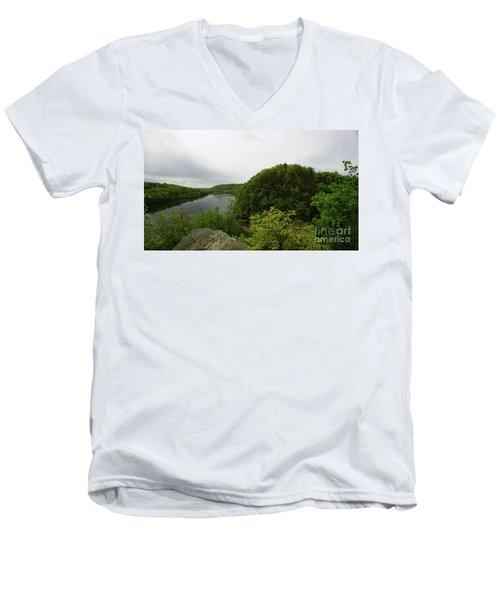 Evermour Men's V-Neck T-Shirt