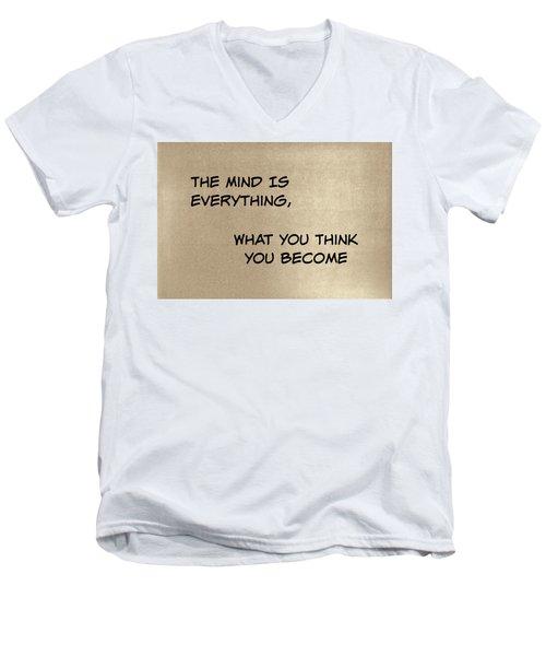 Everything Men's V-Neck T-Shirt