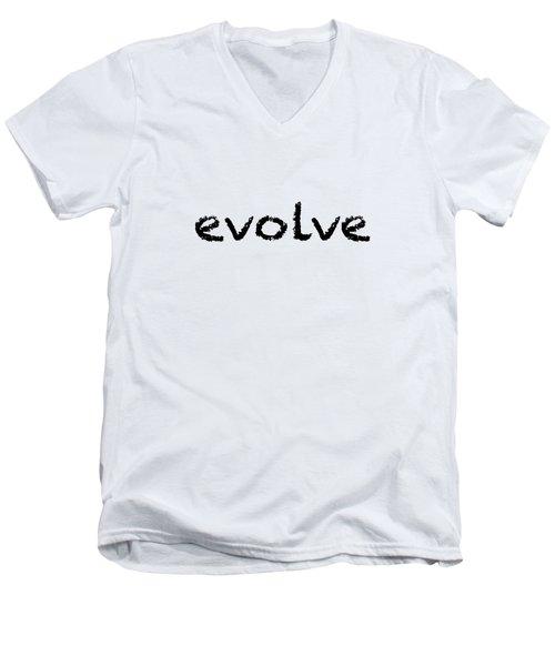 Evolve Men's V-Neck T-Shirt