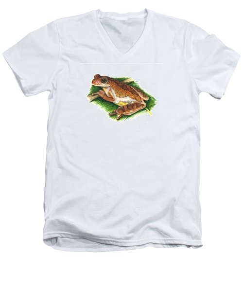 Executioner Treefrog Men's V-Neck T-Shirt