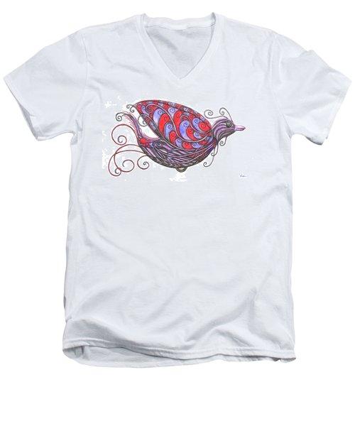 Exotic Bird V Men's V-Neck T-Shirt