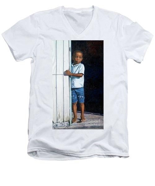 Expectations Men's V-Neck T-Shirt
