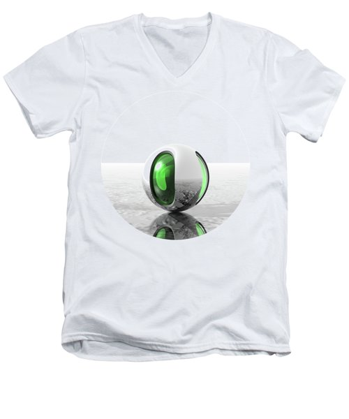 Extraterrestrial Men's V-Neck T-Shirt by Phil Perkins