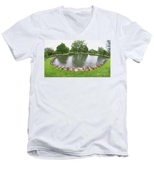 Eye Lake Men's V-Neck T-Shirt