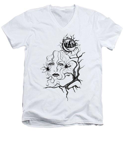 Eye Of The Beholder Men's V-Neck T-Shirt