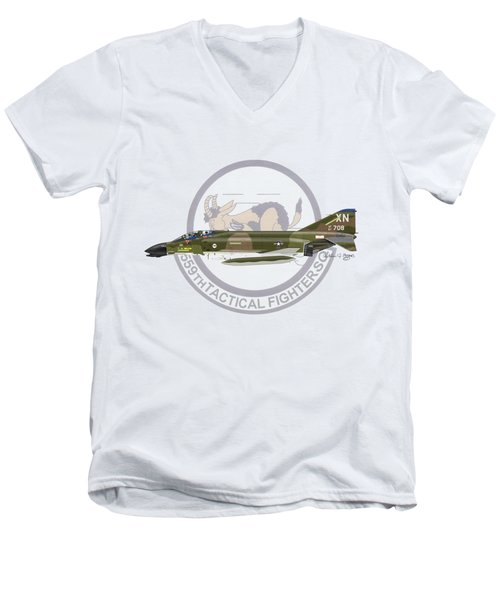 F-4d Phantom 559tfs Men's V-Neck T-Shirt