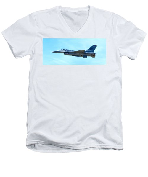 F16 Men's V-Neck T-Shirt
