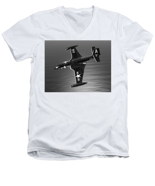 F2h Banshee Men's V-Neck T-Shirt by Douglas Castleman