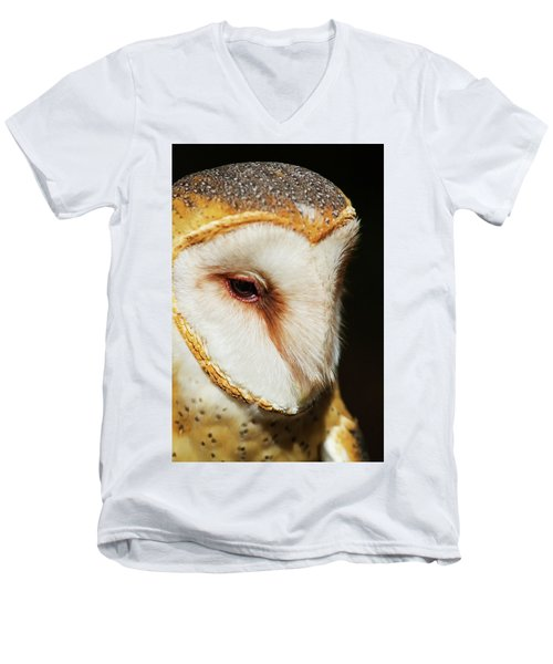 Men's V-Neck T-Shirt featuring the photograph Face Of Athena by Arthur Dodd