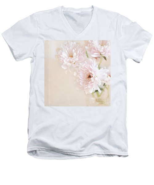 Faded Dream Men's V-Neck T-Shirt by Lyn Randle