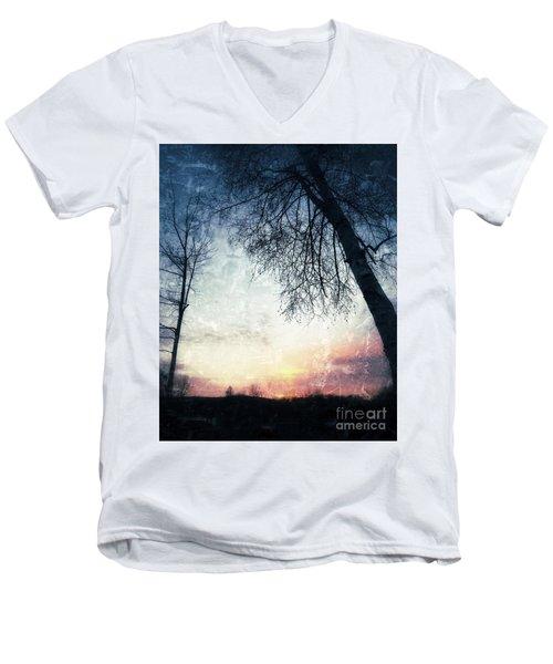 Fading Sunset Men's V-Neck T-Shirt