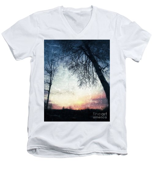 Fading Sunset Men's V-Neck T-Shirt