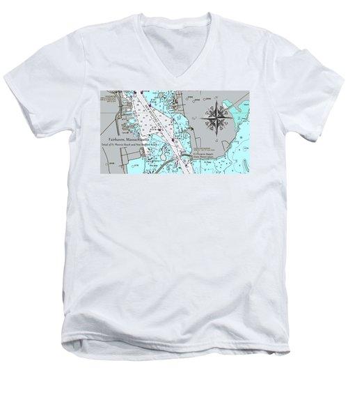 Fairhaven Detail Men's V-Neck T-Shirt