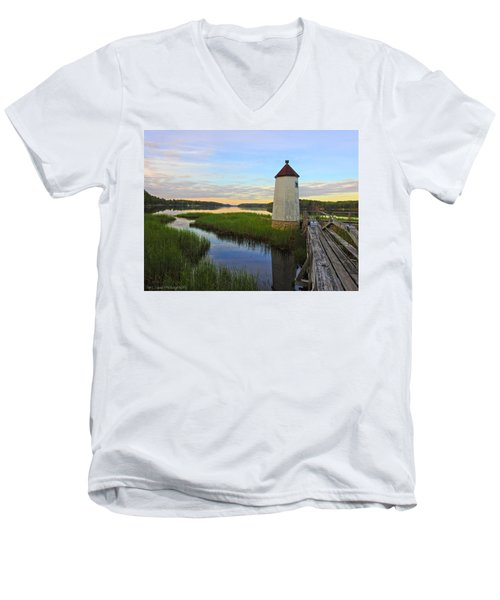 Fairy Tale On The River Men's V-Neck T-Shirt