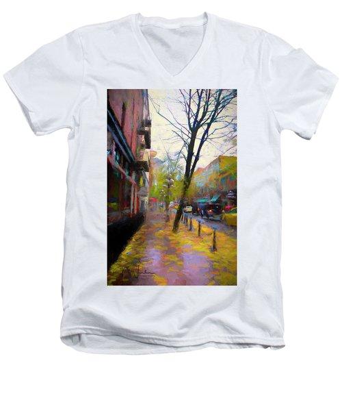 Fall Days Men's V-Neck T-Shirt