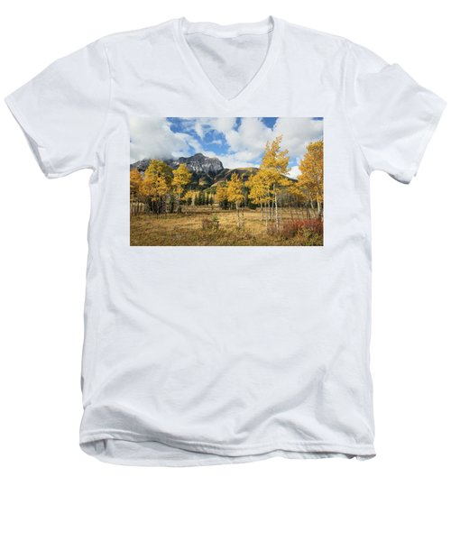 Fall In Kananaskis Men's V-Neck T-Shirt