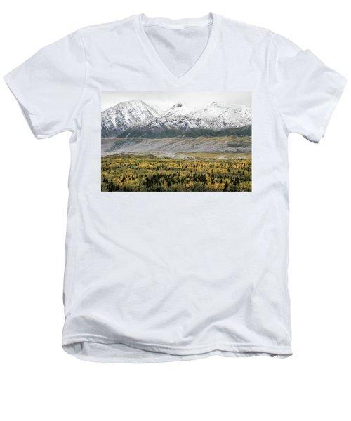 Fall In Wrangell - St. Elias Men's V-Neck T-Shirt