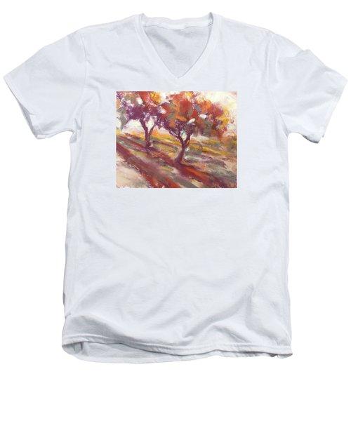 Fall Light Men's V-Neck T-Shirt
