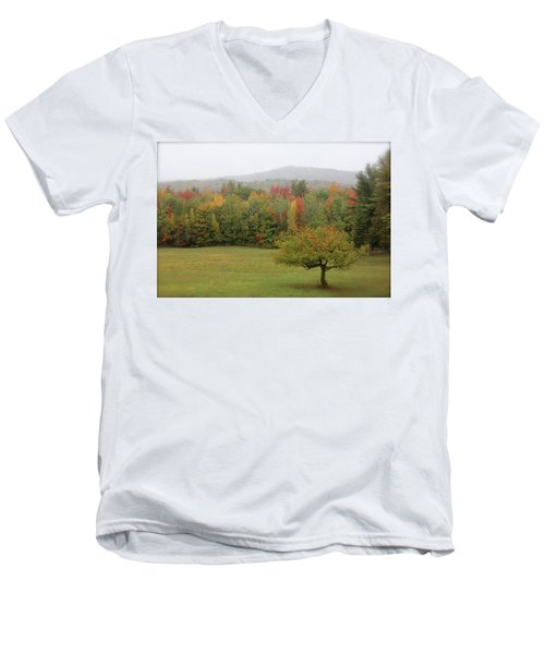 Fall Nh Men's V-Neck T-Shirt