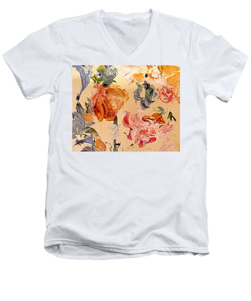 Fall Roses Men's V-Neck T-Shirt