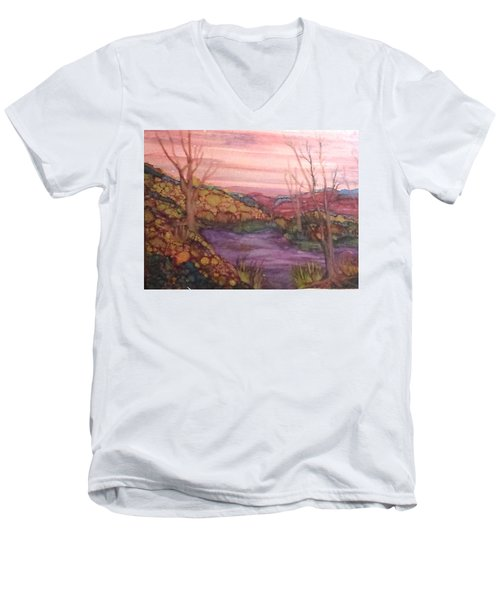 Fall Sky Men's V-Neck T-Shirt