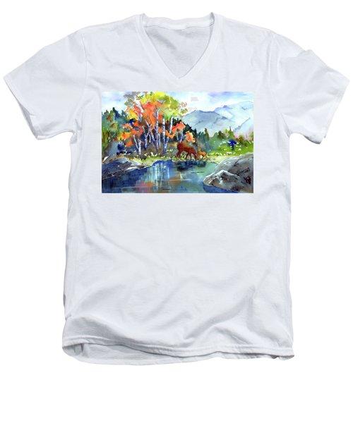 Fall, Upon Us Men's V-Neck T-Shirt