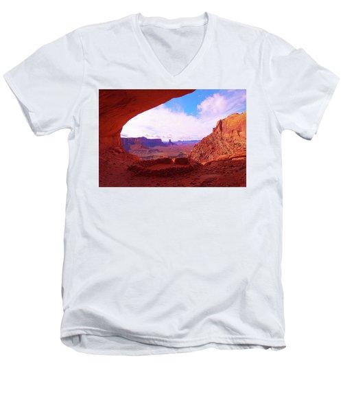 False Kiva Men's V-Neck T-Shirt